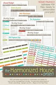 Budget Planner 15 Free Printable Monthly Budget Planner