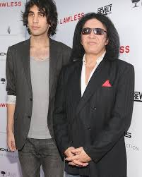 gene simmons son 2015. gene simmons with his son nick 2015