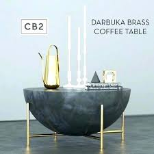 cb2 mill coffee table coffee table brass model white round mill decoration day cb2 mill large coffee table