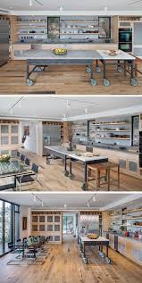 Industrial Kitchen Island 8 Examples Of Kitchens With Movable Islands That Make It Easy To