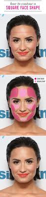 Square Face Shape Hairstyles 25 Best Ideas About Square Face Makeup On Pinterest Face Shapes