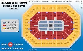 Bradley Center Detailed Seating Chart Bmo Harris Bradley Center Arctic Monkeys Sp2015