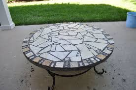 From the Scrap Pile Small Tiled Table Hometalk