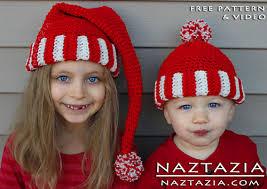 Santa Hat Pattern Interesting Ravelry Santa Hat Elf Hat Pixie Hat Beanie Hat Pattern By Naztazia