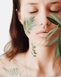Temporary Tattoo Buy Green Leaves Set Color
