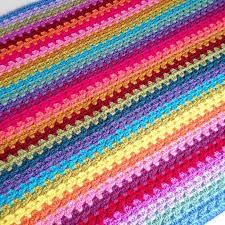 attic 24 blankets. crochet progress on the granny stripe attic24 sunny cal by kathryn at crafternoon treats attic 24 blankets