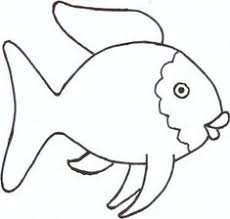 Simple Fish Outline Simple Fish Outline Fish Template Simple Templates