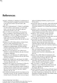 references veterinary epidemiology