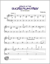 dance of the sugar plum fairy sheet music dance of the sugar plum fairy nutcracker easy piano sheet music