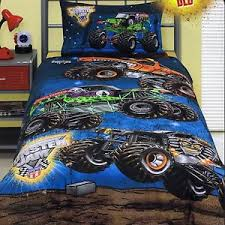 Monster Jam Trucks - Grave Digger - Queen Bed Quilt Doona Duvet ... & Image is loading Monster-Jam-Trucks-Grave-Digger-Queen-Bed-Quilt- Adamdwight.com
