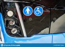 Turn Off Lights Stickers Free Front Lights Bus With Symbols Stickers Transport For The