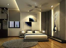 cool ceiling fans for modern bedroom design with recessed lighting and wooden flooring installation bedroom recessed