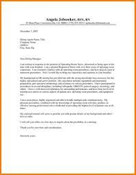 Nurse Cover Letters Nursing Resume Cover Letter Examples Registered Nurse