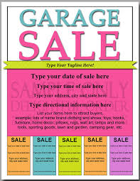 Yard Sale Flyer Template Word Yard Sales Flyers Yard Sale