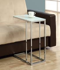 amazonsmile coaster contemporary snack table with glass unique