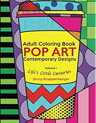 Small Picture Amazoncom Pop Art Coloring Book For Adults Stress relief