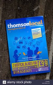 Business Phone Book Thomson Local Business Directory Phone Book Stock Photo 66818149
