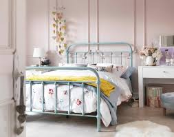 Bed Frame Styles the betsy vintage hospital double bed in duck egg blue its curved 4104 by xevi.us