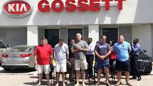david gossett and gossett kia covington pike managers takes als challenge gossett motor cars