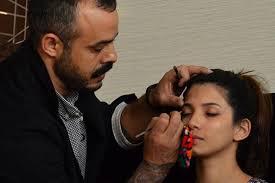 daniel bauer makeup artist on insram