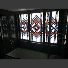 leaded glass located in bathroom private residence san antonio tx