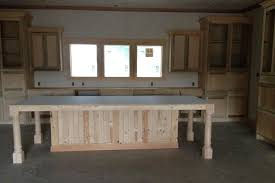 build kitchen island plans using stock cabinets how to small with seating free a narrow from