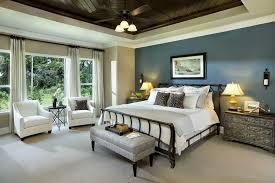 blue board n batten bed wall other walls tan w wood center ceiling fire master