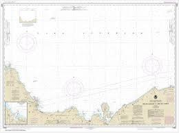 Noaa Chart St Marys River To Au Sable Point Whitefish Point Little Lake Harbors Grand Marais Harbor 14962