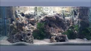 Aquarium Background Pictures How To Install 3d Aquarium Background Limestone Modules New