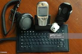 Smartphone QTek 7070 displayed ...