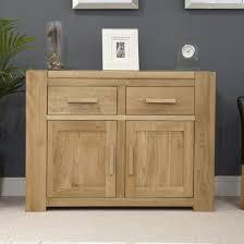Living Room Furniture Oak Trend Solid Oak Small 2 Door Sideboard Oak Furniture Uk
