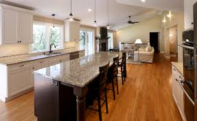 Kitchen Island Tops Ideas Stunning Natural Wooden With Dark Painted Panels Kitchen Island