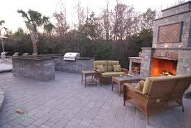 outdoor fireplace kits outdoor kitchen fireplace kits lowcountry paver the southeast
