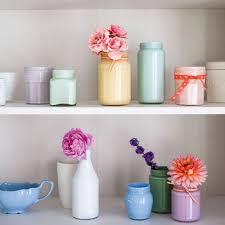 Jam Jar Decorating Ideas How To Make Jam Jar Vases Craft Ideas Arranging Flowers Red 64