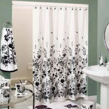 black and white shower curtains. Shower Curtain Black White 2 And Curtains E