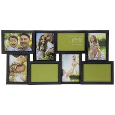 black wood collage wall frame hobby