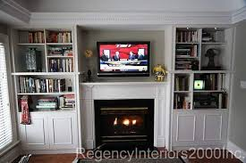 Built in bookcase fireplace surround | Fireplace surrounds ...