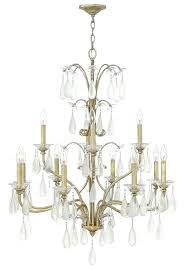 chandeliers fredrick ramond chandelier lighting collection twelve light hanging in silver leaf finish history
