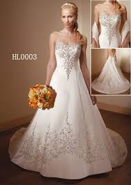 embroidered wedding dress. Embroidered Wedding Gown Embroidered Quinceanera dress