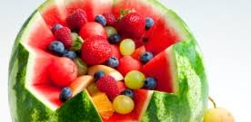 watermelon fruit salad bowl. Simple Watermelon Watermelon Fruit Bowl Salad To S