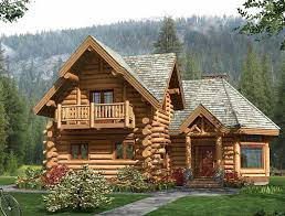 Just A Small Log Cabin In The Woods Near A Stream Waterfall Small Log Home Designs