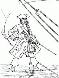 Disegni Da Colorare Pirata E Di Imbarco