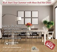 june red tag now through june 29th