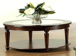 round glass top coffee table with wood base appealing round glass top coffee table with wood base display glass top coffee table wood base