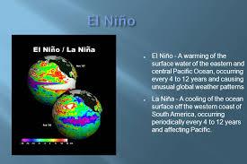 What Unusual Pattern Occurs During El Niño Stunning El Niño And El Niña's Impact On Globalization Ppt Download