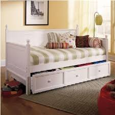 If you do not want to put extra effort and drill any hole then you may  simply obtain large corner pillows and place it on the twin bed after  pushing ...