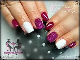 Gelové Nehty Inspirace č150 Magic Nails Gelové Nehty