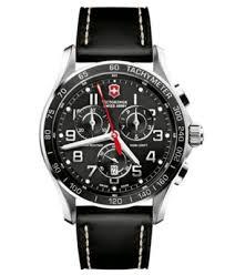 victorinox swiss army watch men s chronograph classic xls black victorinox swiss army watch men s chronograph classic xls black leather strap 241444 watches jewelry watches macy s
