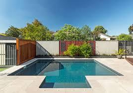 modern pool designs and landscaping. Blackburn South Small Pool Modern Designs And Landscaping D