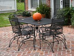 Excellent Outdoor Wrought Iron Patio Furniture Set Patio Other